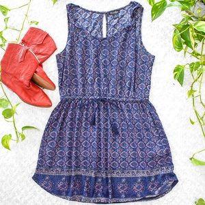 LUCKY BRAND | Tribal Print Sleeveless Dress